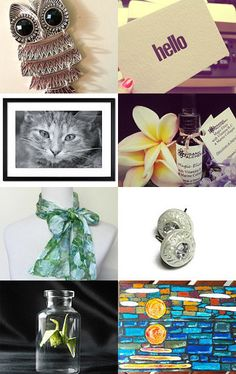 Things to brighten your Monday! by Amy Reinagel on Etsy--Pinned with TreasuryPin.com