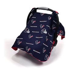 Baby Fanatic NFL Car Seat Canopy Houston Texans >>> Read more reviews of the product by visiting the link on the image.-It is an affiliate link to Amazon.