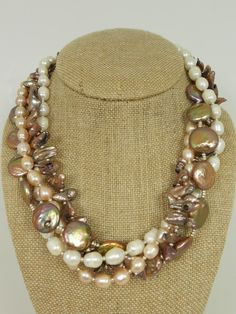 Cinnamon Girl Pearl Necklace.