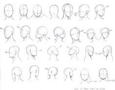 Head Angles by KCSteiner.deviantart.com on @DeviantArt: