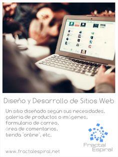 Diseño y desarrollo de sitios web.