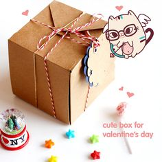 Cute Box Love Saint valentine's day love couple by strawberrystyle