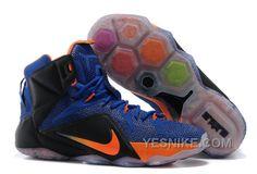 http://www.yesnike.com/big-discount-66-off-nike-lebron-12-hyper-blue-blackorange-mens-basketball-shoes.html BIG DISCOUNT ! 66% OFF! NIKE LEBRON 12 HYPER BLUE/BLACK-ORANGE MENS BASKETBALL SHOES Only 103.19€ , Free Shipping!
