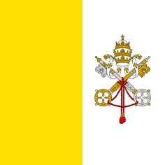 Vatican City Capital: Vatican City Official Language: Latin, Italian Government: Absolute monarchy Currency: Euro Driving: right Religion: Christianity Flag:  -yellow and white: refer to the keys of St. Peter -Papal tiara -red cord connects the keys to heaven