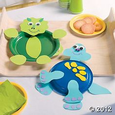 Dino Plate craft how freakin cute?