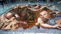pinturas em 3d em paredes - Pesquisa Google