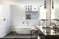 208 best best luxury hotel bathrooms images hotel bathroomsbathroom of a guest room at kimpton\u0027s newest hotel the gray in chicago tub shower