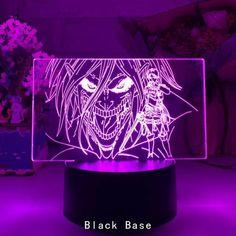 Attack on Titan Eren Jaeger - Black / 7 Color No Remote