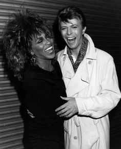 David Bowie and Tina Turner