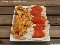 Pechugas con salsa de tomate | Cocinando en un rincón del mundo