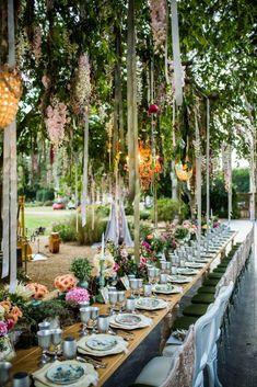 Midsummers night dream wedding #springwedding