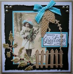 Hanny,s Kaarten Marianne Design, Vintage Tags, Handmade Christmas, Photo Cards, Card Ideas, Christmas Cards, Recycling, Scrapbooking, Girly