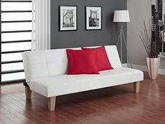 Special Offers - DHP Aria Futon White - In stock & Free Shipping. You can save more money! Check It (May 14 2016 at 01:14PM) >> http://sofaarmchairusa.net/dhp-aria-futon-white/