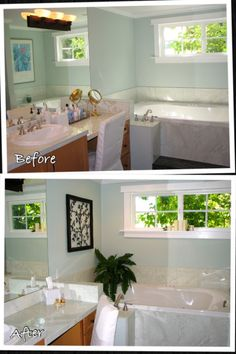 Remove your personal products from the bathroom when you home stage