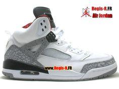 90ded885e9bd81 Air Jordan Spizike white cement grey varsity red black 315371 cheap Jordan  Spikize