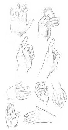как рисовать кисть руки