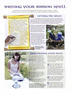 Mind, Body, Spirit Collection - Writing Your Ribbon Spell
