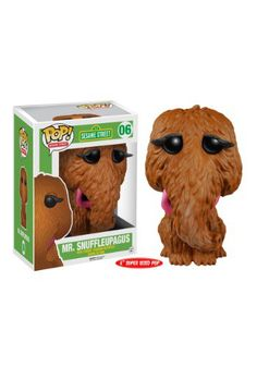 "We bet you've muttered the words, 'I want a snuffleupagus!' If so, you need this  POP! Sesame Street 6"" Suffleupagus Vinyl Figure!"