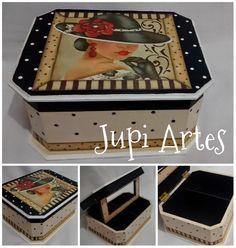 Jupi Artes: Porta Maquiagem