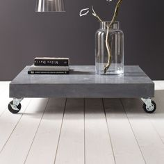 concrete coffee table | Harper and Harley