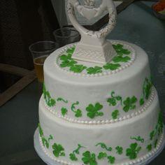 Irish wedding cake by Keykes