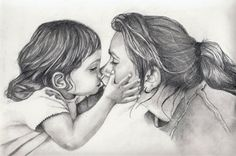 Pencil Sketches of People Kissing | Pencil Drawings Of People Kissing