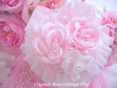 Shabby Pink Romantic Rose Jewelry Boxes