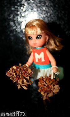 View Item: LITTLE LIDDLE KIDDLE 3788 rah rah skediddle 1969- own My Childhood, Dawn, Pop Culture, Memories, Dolls, Christmas Ornaments, Holiday Decor, Children, Life