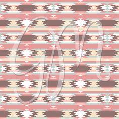 12 Papel Scrapbook Digital tribal pack Ikat por GraphicMarket