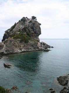 """""""Mamma Mía"""" a la griega; Isla de Skópelos, Grecia."""
