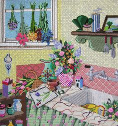 Amy's Golden Strand   Photo Gallery   Amy Bunger   Needlepoint