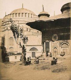 James Robertson Constantinople. Cour de Sainte-Sophie  1854