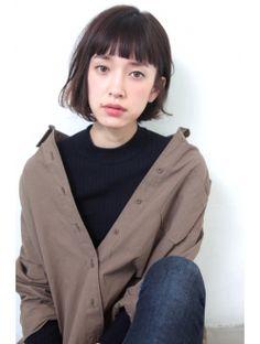 バコ(Baco.) ストレートな眉上バング【Baco.】