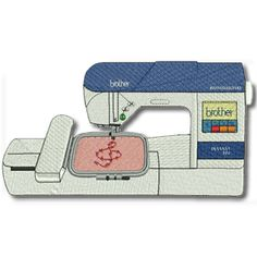 Sewing Machine Embroidery Designs Link 50 Ideas For 2019 Brother Embroidery Machine, Sewing Machine Embroidery, Free Machine Embroidery Designs, Embroidery Applique, Embroidery Software, Embroidery Files, Embroidery Techniques, Sewing Projects, Link