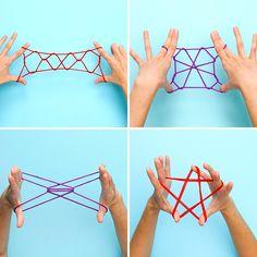 5 Minute Crafts Videos, 5 Min Crafts, Diy Crafts Hacks, Diy Crafts For Gifts, Cute Crafts, Diy Crafts Videos, Yarn Crafts, Instruções Origami, Paper Crafts Origami