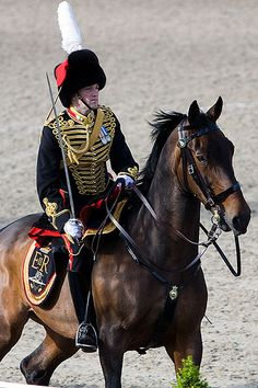 Officer of the Kings Troop Royal Horse Artillery