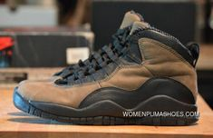 Now Buy Air Jordan 10 Dark Shadow New Style Save Up From Outlet Store at Footlocker. Cool Jordans, New Jordans Shoes, Pumas Shoes, Air Jordans, Discount Jordans, Discount Sneakers, Buy Sneakers, Jordan 10, Jordan Swag