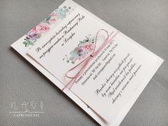 Zaproszenie ślubne i pastelowe sukulenty  #zaproszenie #zaproszenia #sukulent #eleganckie #pastel #kwiaty #pastelowe #sznurekbawełniany #sznurek #rozowy Invitation Cards, Wedding Invitations, Nalu, Watercolor Paintings, Decorations, Colour, Ideas, Invitations, Fiestas