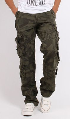 Men's Green Cargo Pants | Pants, Cargo pants and Chang'e 3
