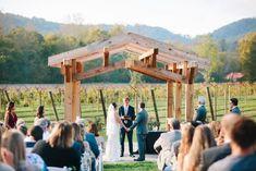 Souther Williams Winery Outdoor Wedding Venues, Blue Ridge Mountains, Westerns, Vineyard, Pergola, Outdoor Structures, Outdoor Wedding Locations, Vine Yard, Outdoor Pergola
