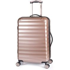 "Free 2-day shipping. Buy iFLY Hard Sided Luggage Fibertech, 24"", Rose Gold at Walmart.com"