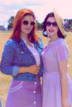 #PinupPicnicInThePark #PixieCosmina #JournauxDesFetichismes #summer #picnic #50'sstyle #HydePark #London #TheBritishBelles