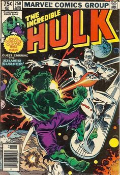 marvel comics 1980 | Incredible Hulk No. 250 Marvel Comics 1980 by worldvintagebooks