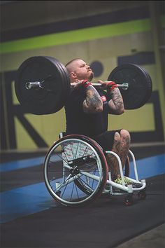 Athlete Michael Mills has created the world's first adaptive crossfit wheelchair.   Michael Mills knew he'd found a new passion when he discovered adaptive CrossFit last summer. Mills, a T12-L1 para, has been all over the adaptive athletics scene since he was paralyzed in a