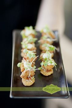 Walleye BLT by D'Amico Catering, via Flickr