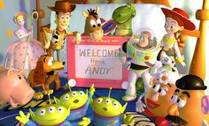 TOY STORY mural ideas for Eddie's room customized for him