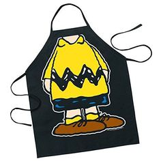 Peanuts Charlie Brown Character Kitchen Barbeque Apron