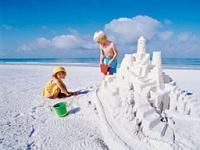 A day at Siesta Beach, or at any other area beach, offers loads of free fun.