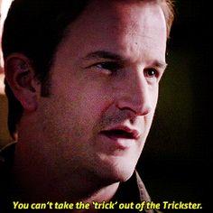 Trickster  #SPN  9.18  Meta Fiction