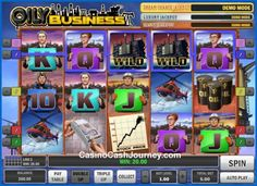 Oily Business is a 5-reel, 5 payline, Play'n Go progressive video slot machine. More this way...    http://www.casinocashjourney.com/slots/playn-go/oily-business.htm